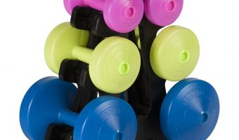 WIN! A York Fitness 15kg Dumbbell Weight Set With Stand!